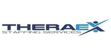 THERAEX STAFFING SERVICES logo